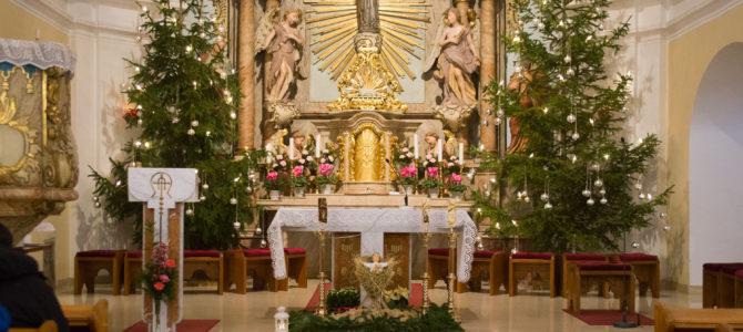 Ohlášky Svátku Svaté rodiny